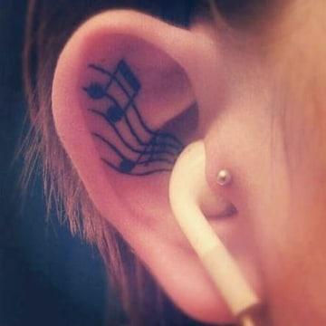 tatuajes de musica electronica pequeños