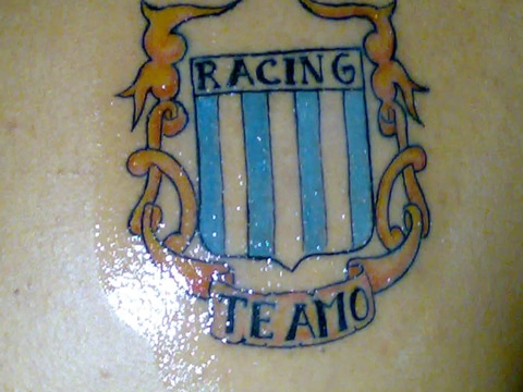 tatuajes de racing club ideas