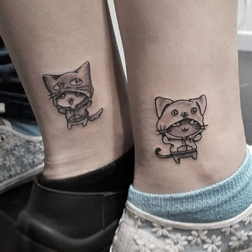 tatuajes para hacerte con tu hermana pequeños