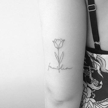 Disenos Sencillos Y Frases De Familia Para Tatuar