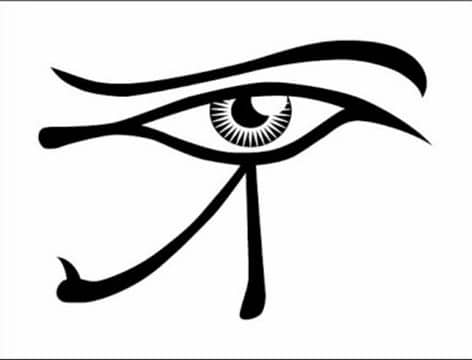 imagenes del ojo de horus dibujo
