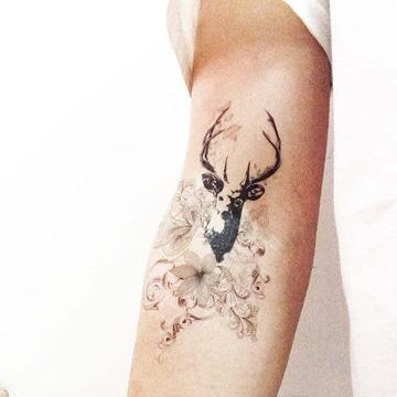 significado de animales en tatuajes venado