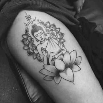 simbolos budistas para tatuar grandes