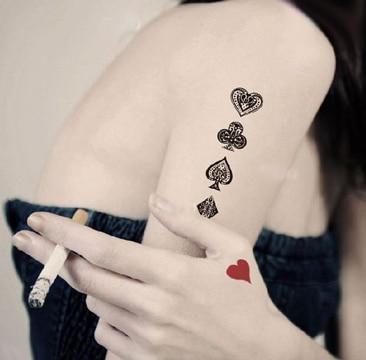 tatuajes de juegos de azar ideas