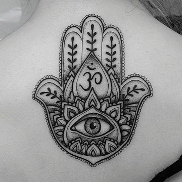 tatuajes de la mano de fatima grande