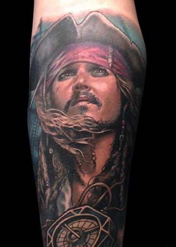 tatuajes de piratas del caribe ideas