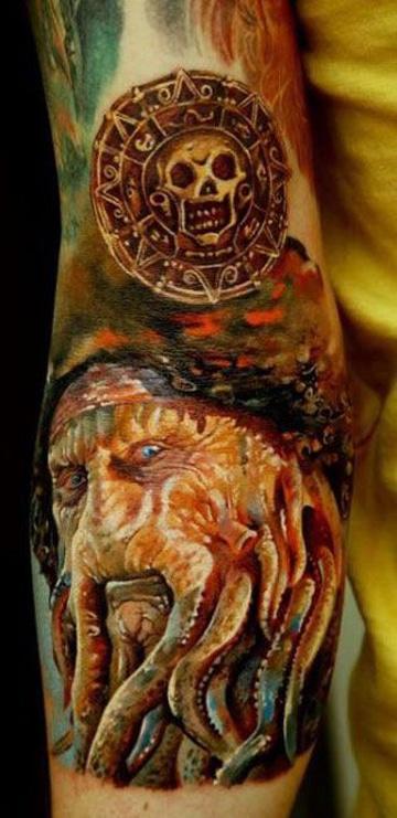 tatuajes de piratas del caribe increibles
