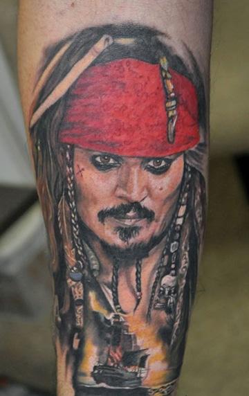 tatuajes de piratas del caribe personajes