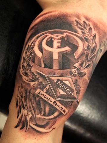 tatuajes del real madrid en 3d