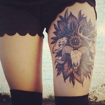 tatuajes del signo aries grandes