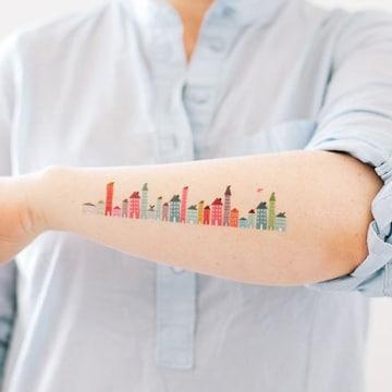 tatuajes que representen la vida en la ciudad