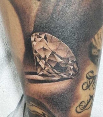 imagenes de tatuajes de diamantes para hombres