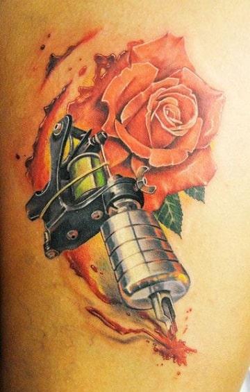tatuajes de maquinas de tatuar caseras