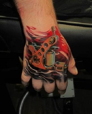 tatuajes de maquinas de tatuar diseños