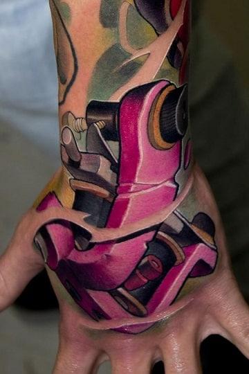 tatuajes de maquinas de tatuar profesionales