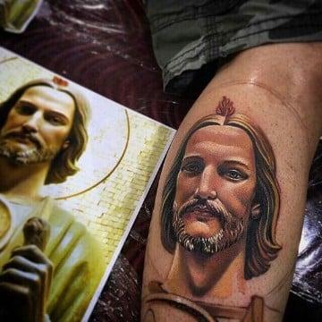 tatuajes de san juditas en 3d