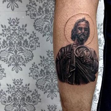 Fanatismo Religioso En Tatuajes De San Juditas