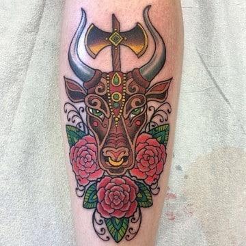 tatuajes del signo tauro ideas