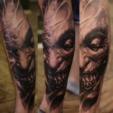 tatuajes diabolicos en el brazo originales