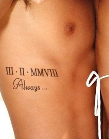 tatuajes en la cintura para hombres ideas