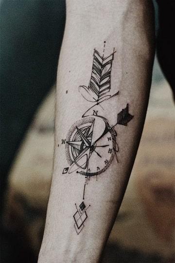 tatuajes para brazos delgados diseño