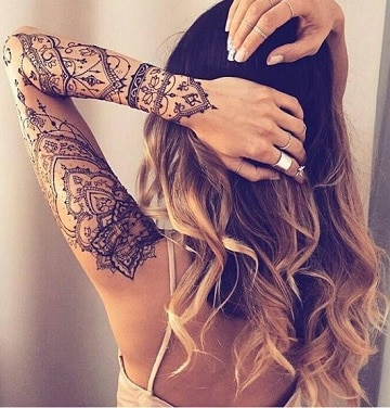 tatuajes para brazos delgados mujeres
