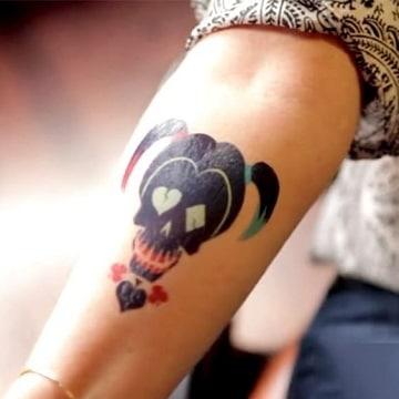 tatuajes que tiene harley quinn diseños