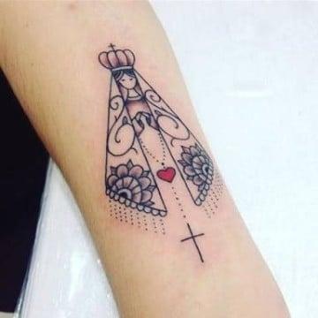 tatuajes religiosos pequeños virgen