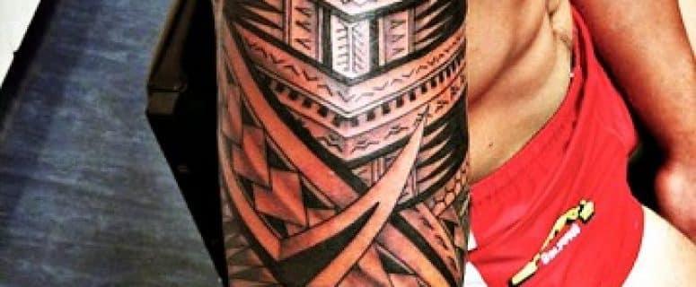 Tatuajes Maories Brazo Plantillas Cool Tatuajes Maories