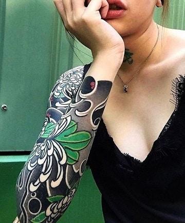 fondos para tatuajes en el brazo mujer