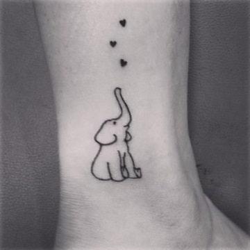 Simbolico Significado Del Elefante En Tatuajes