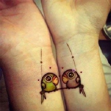 simbolos de amor para tatuajes en la muñeca