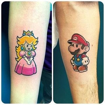simbolos de amor para tatuajes para gamers