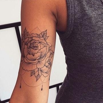 simbolos hindues para tatuajes en el brazo
