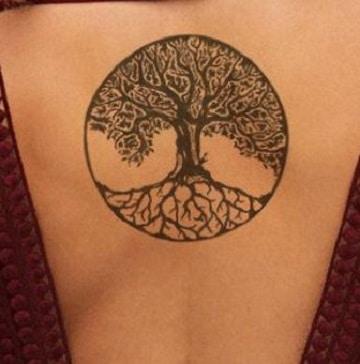 tatuajes con significado de fuerza en la espalda