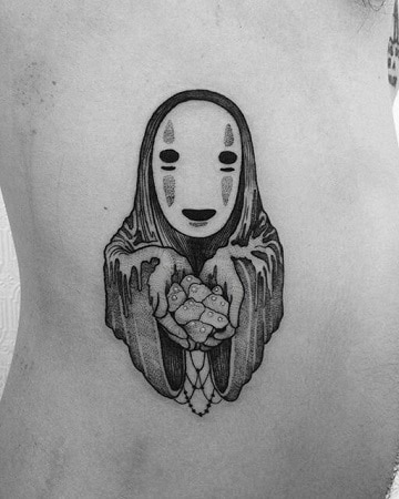 tatuajes en blanco y gris diseños