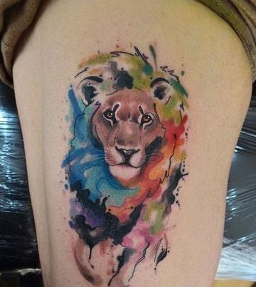 tatuajes nuevos para mujeres en la pierna