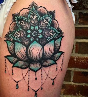 tatuajes nuevos para mujeres mandalas