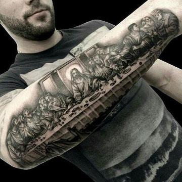 tatuajes religiosos para hombres catolicos