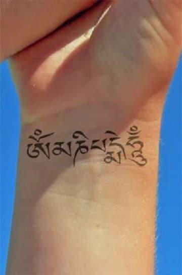 tatuajes tibetanos y su significado en la muñeca
