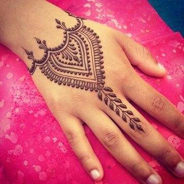 Diseños Originales De Tatuajes De Henna Faciles