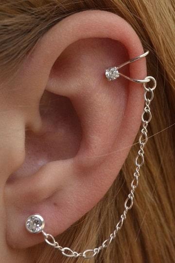 imagenes de aritos en la oreja grandes
