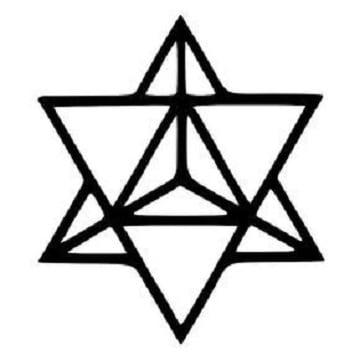 plantillas de tatuajes de estrellas geometricas