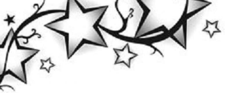 Diferentes Plantillas De Tatuajes De Estrellas