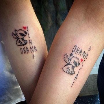 tatuajes de lilo y stitch ohanna