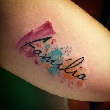 tatuajes para parejas con hijos familia