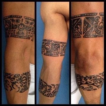 tatuajes tribales antebrazo dobles