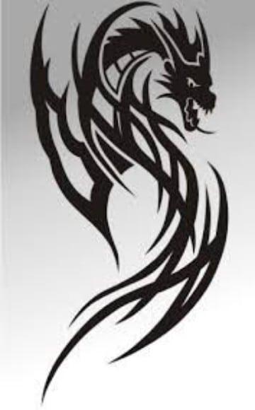 imagenes de dragones para tatuajes con estilo