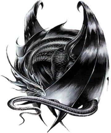 imagenes de dragones para tatuajes feroces