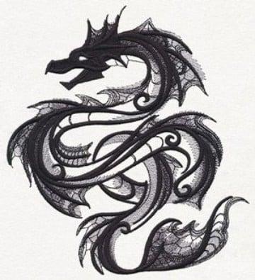 imagenes de dragones para tatuajes originales